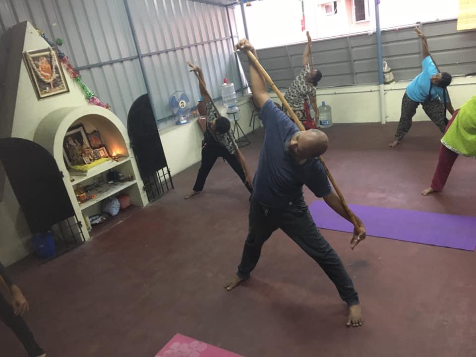 Stick Yoga