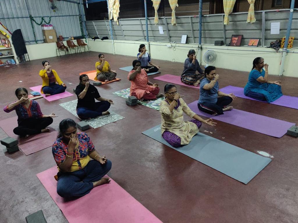 Yoga for Senior Citizens